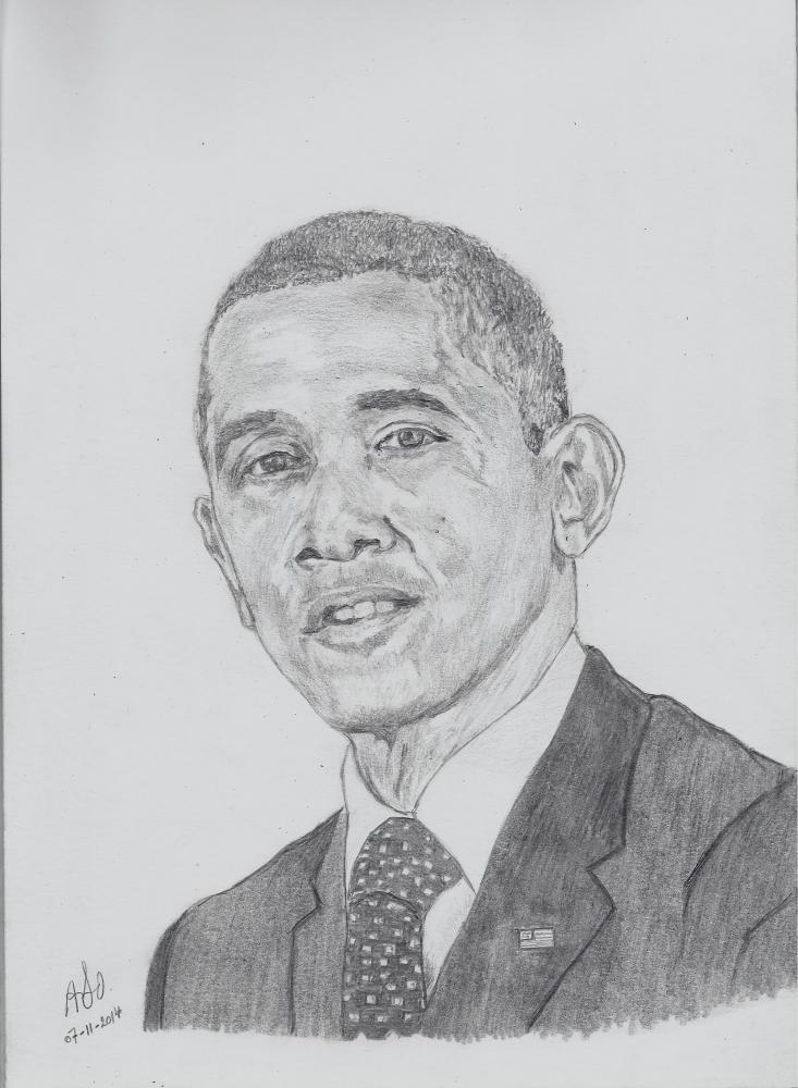 Barack Obama by ABO